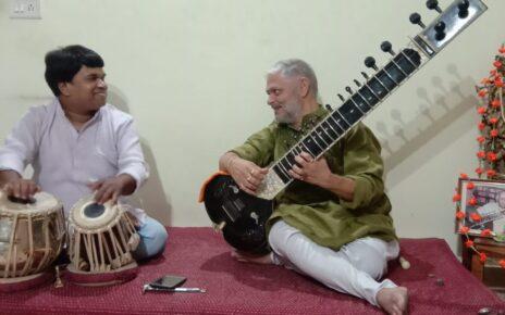 Sitar Performance live by Akhilesh Sapre and Lokesh Malviya on Tabla 2020 June